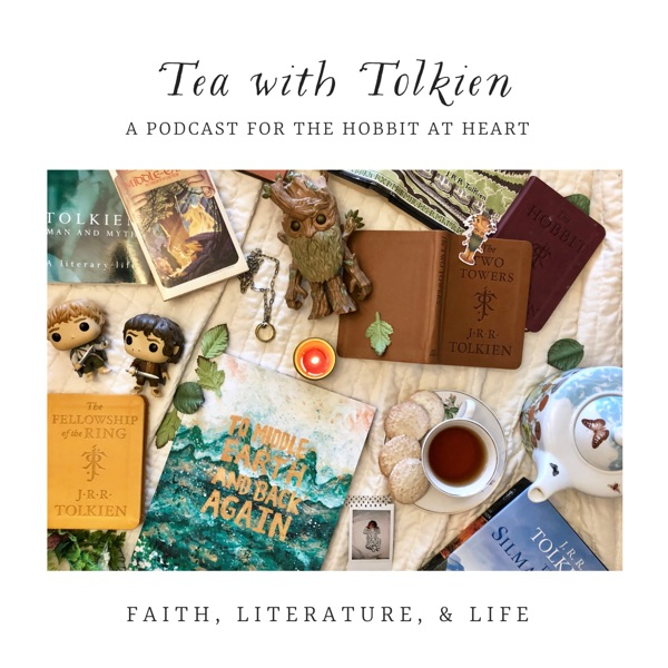 Tea with Tolkien podcast show image