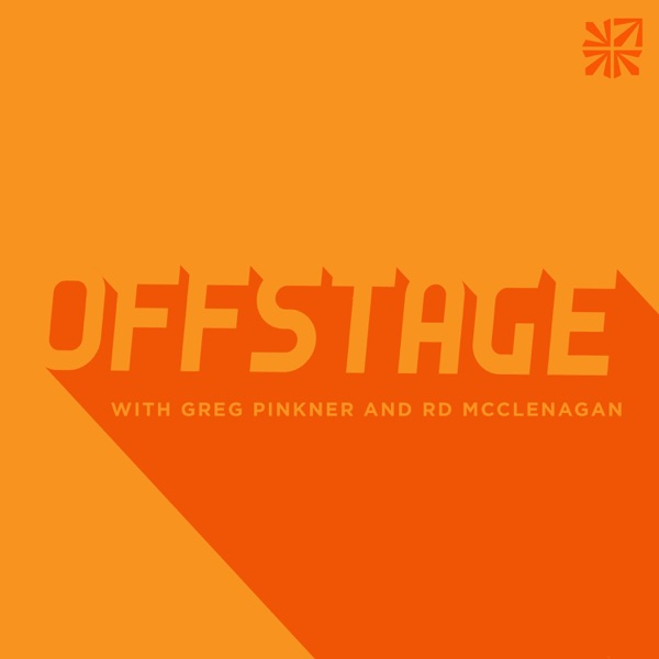 Off Stage with Greg and RD podcast show image