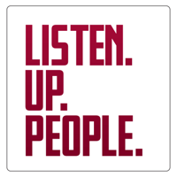 Podcast cover art for Listen.Up.People.