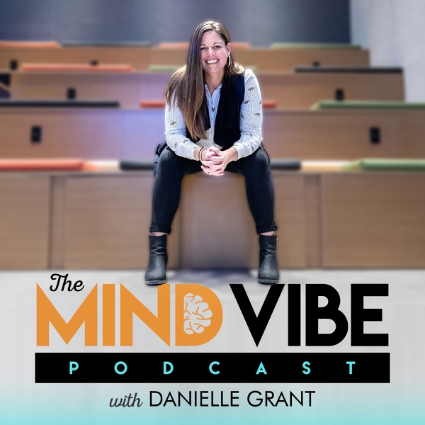 The Mind Vibe Podcast banner backdrop