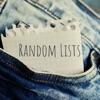Random Lists artwork