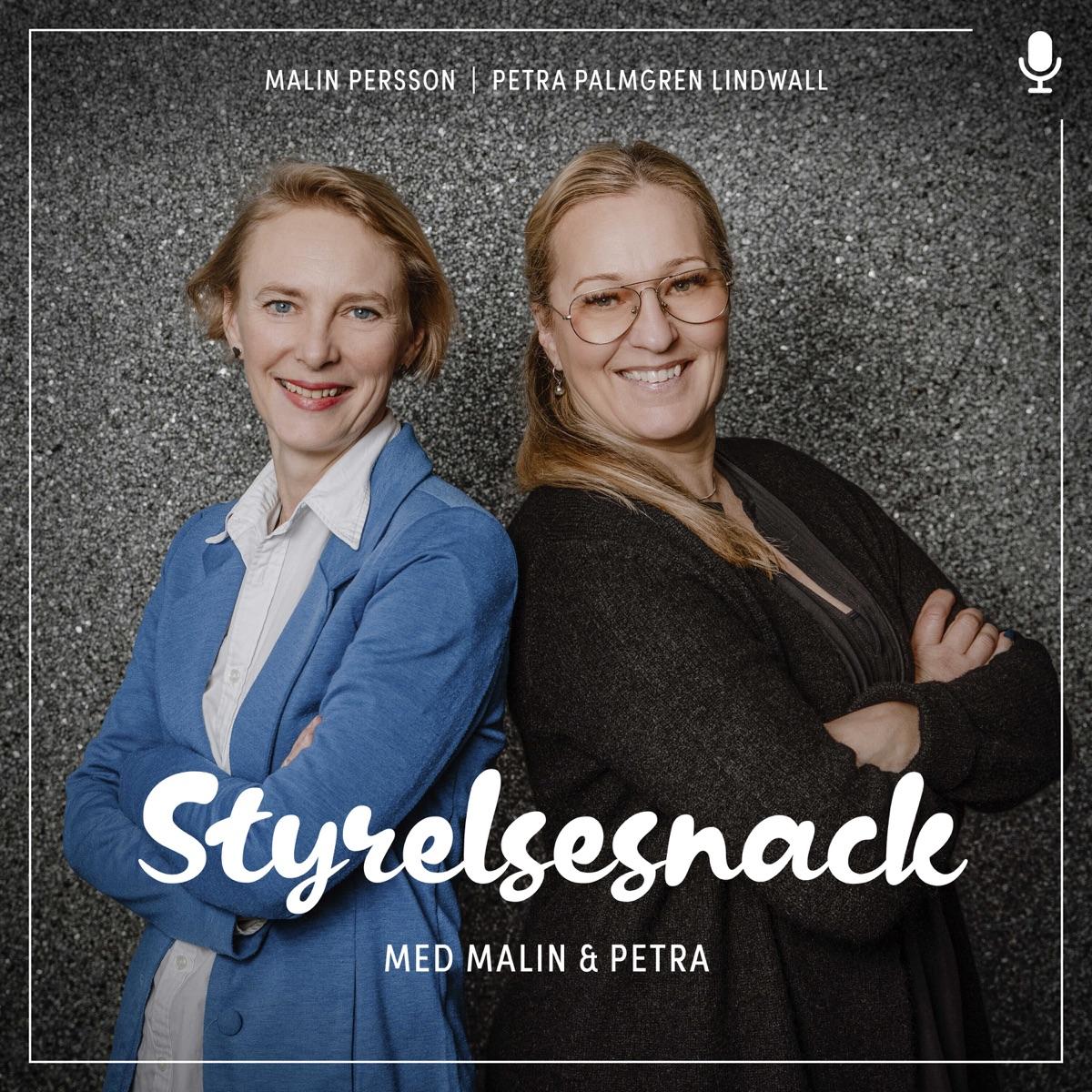 Styrelsesnack med Malin & Petra