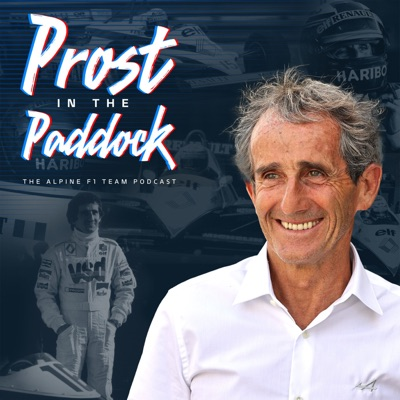 Prost in the Paddock