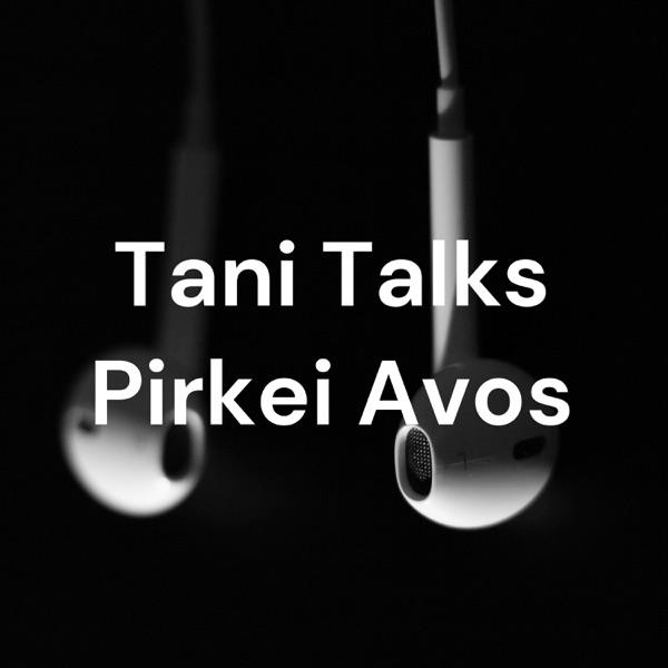 Tani Talks Pirkei Avos Artwork