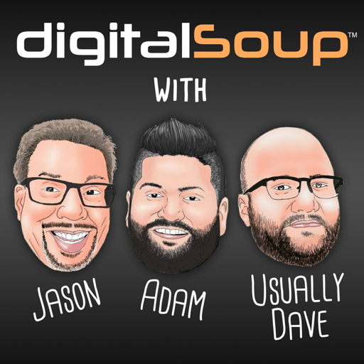 Cover image of digitalSoup - A Hilariously Geeky Podcast
