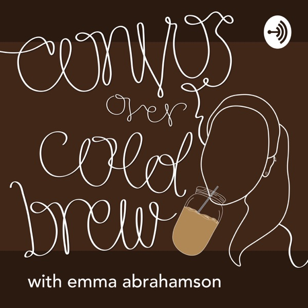 Convos Over Cold Brew with Emma Abrahamson Artwork