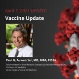 UPDATE 4/7/2021 - Vaccine Update