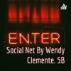 Social Net By Wendy Clemente. 5B artwork