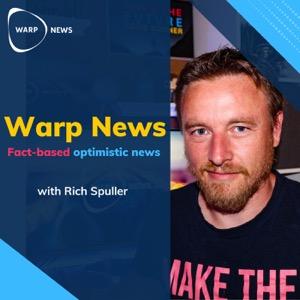 Warp News - Fact-Based Optimistic News with the Optimist's Edge