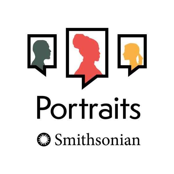 PORTRAITS banner backdrop