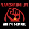 FlamesNationLive with Pat Steinberg artwork