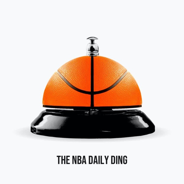 The NBA Daily Ding banner backdrop