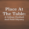 Place At The Table: A College Football And Food Odyssey