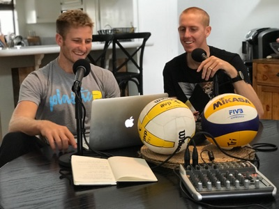 SANDCAST: Beach Volleyball with Tri Bourne and Travis Mewhirter:Travis Mewhirter