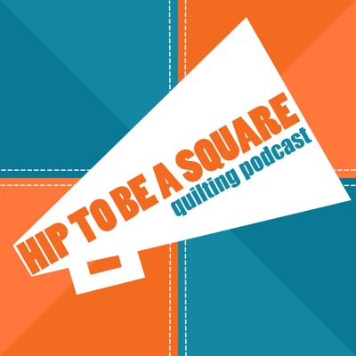 Hip to be a Square Quilting Podcast:Pam the Head Rhombus