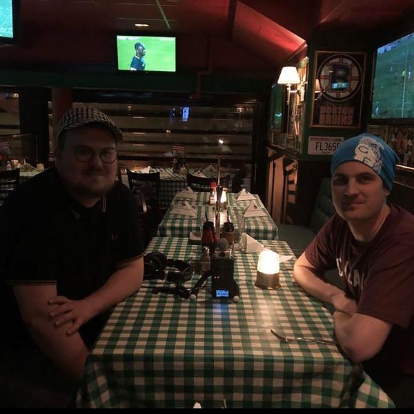 Middag med Löf och Ström