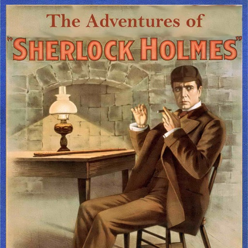 Cover image of The Adventures of Sherlock Holmes by Sir Arthur Conan Doyle