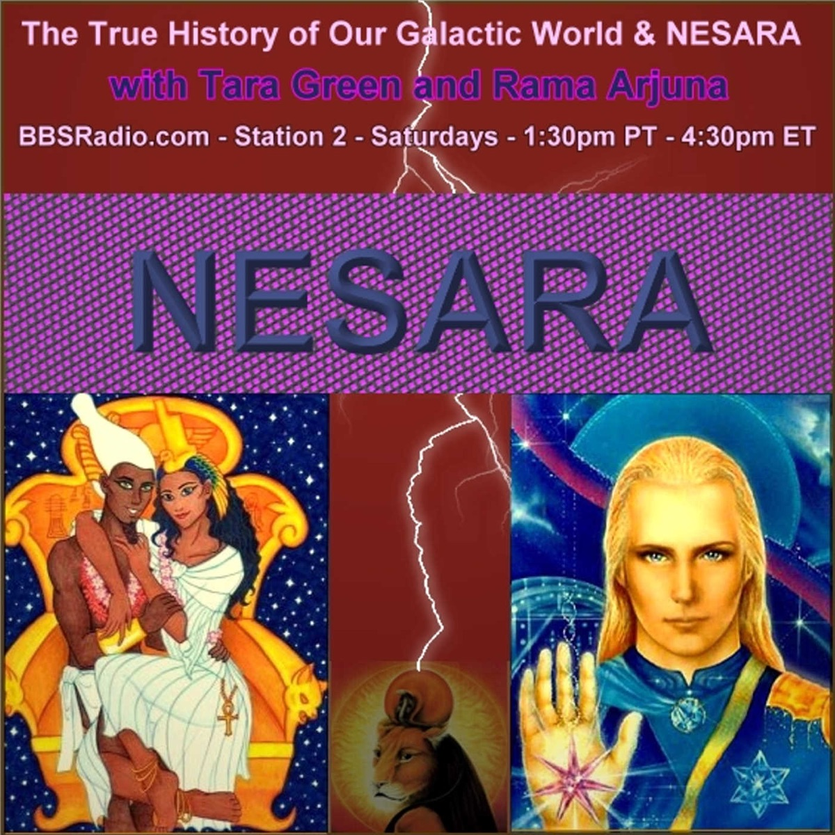 The True History of Our Galactic World and NESARA with Tara Green and Rama Arjuna