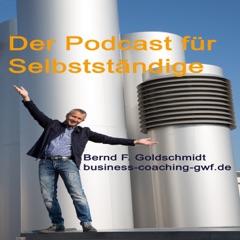 BusinessTalk's podcast für Selbstständige mit Bernd Goldschmidt