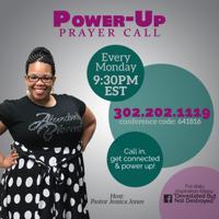 Power-Up Prayer Call podcast
