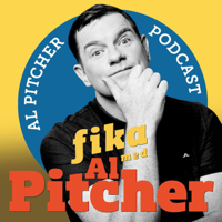 Podcast cover art for Fika med Al Pitcher