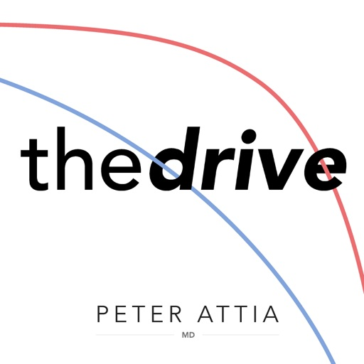 Cover image of The Peter Attia Drive