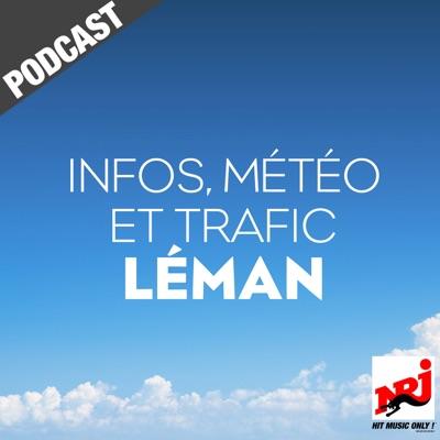 INFOS, METEO et TRAFIC de NRJ Léman:NRJ France