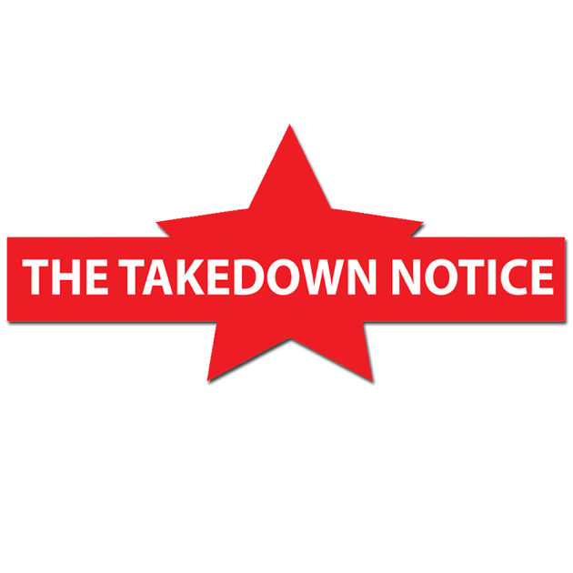 The Takedown Notice op Apple Podcasts
