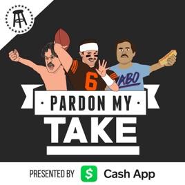 Pardon My Take on Apple Podcasts