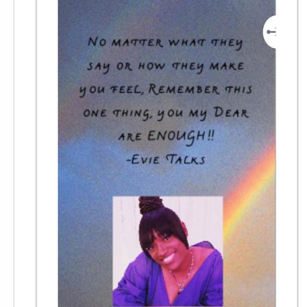 Evie Talks!