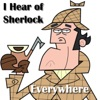 I Hear of Sherlock Everywhere artwork