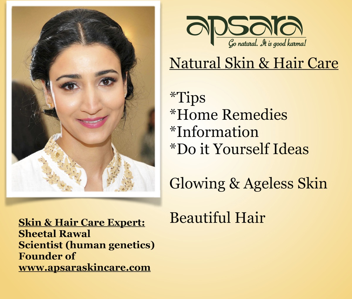 Apsara Skin Care: Tips, Remedies & Info for Flawless Skin & Beautiful Hair