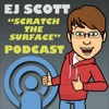 SCRATCH the SURFACE with EJ Scott artwork