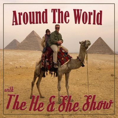 Around The World with the He and She Show:Gotham Podcast Studios