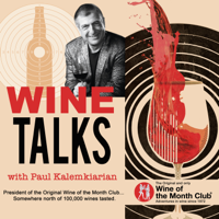Podcast cover art for Wine Talks with Paul Kalemkiarian
