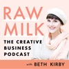 Raw Milk - The Creative Business Podcast about social media, marketing, branding, blogging artwork