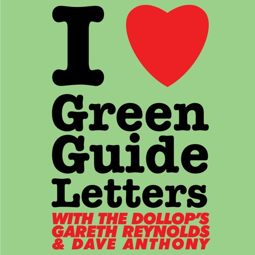 Cover image of I Love Green Guide Letters with Steele Saunders