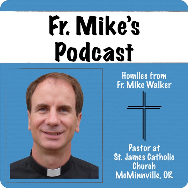 Father Mike's Podcast banner backdrop