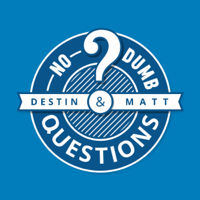 Podcast cover art for No Dumb Questions