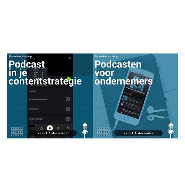 Microphone Media Podcastcursussen