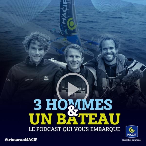 Trois hommes et un bateau