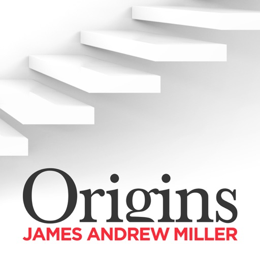 Cover image of Origins with James Andrew Miller