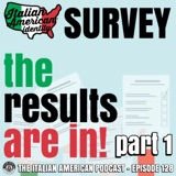 "IAP 128: ""Where We've Been, Where We Are, and Where We're Going"" - Examining the Italian American Identity Survey Results (Part 1)"