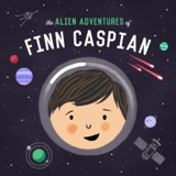 Image of The Alien Adventures of Finn Caspian: Science Fiction for Kids podcast