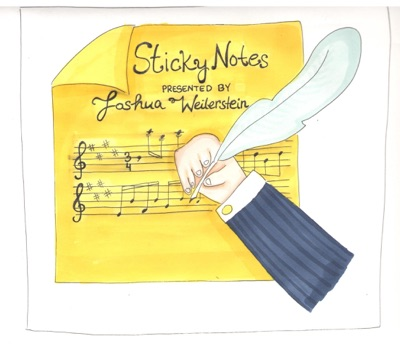 Sticky Notes: The Classical Music Podcast:Joshua Weilerstein