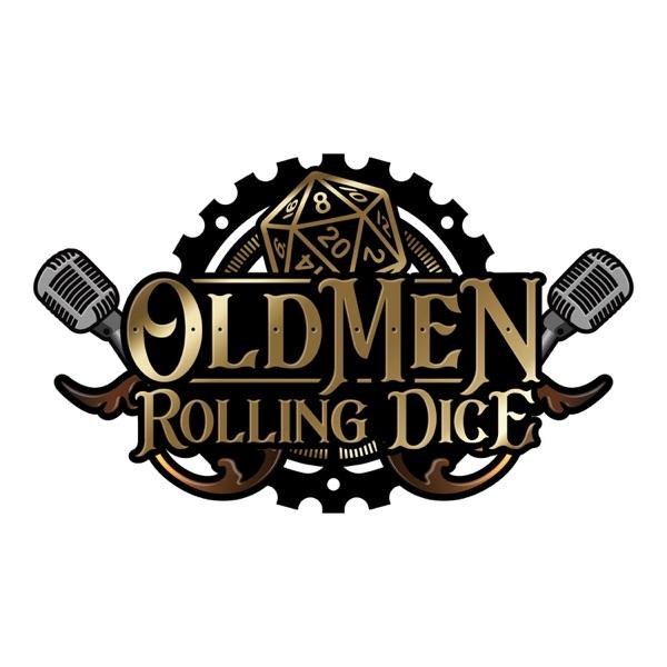 Old Men Rolling Dice