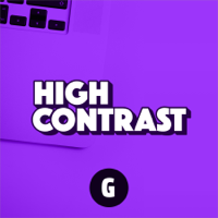 Podcast cover art for High Contrast