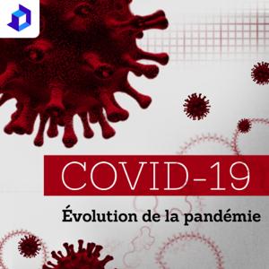 Évolution de la pandémie COVID-19