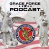 U.S. Grace Force with Fr. Richard Heilman and Doug Barry artwork