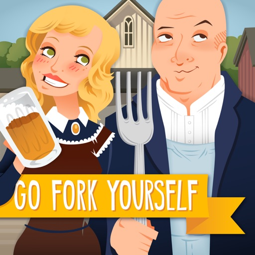 Cover image of Go Fork Yourself with Andrew Zimmern and Molly Mogren